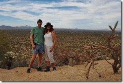Ray and Anne in Saguaro N.P.