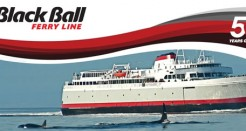 Black Ball Line MV Coho Ferry Trip